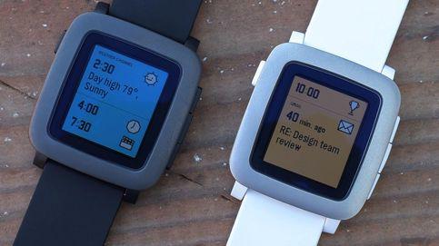 Así es un día normal con el Pebble Time, el gran rival del Apple Watch