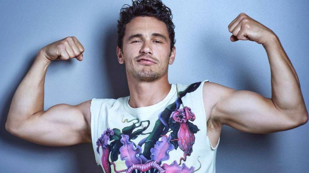 Foto: James Franco en una imagen de Gavin Bond para la revista 'Out'.