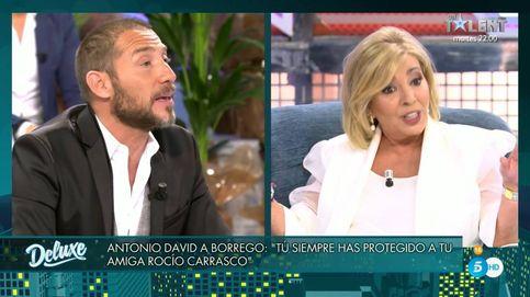 Brutal enfrentamiento entre Carmen Borrego y Antonio David Flores