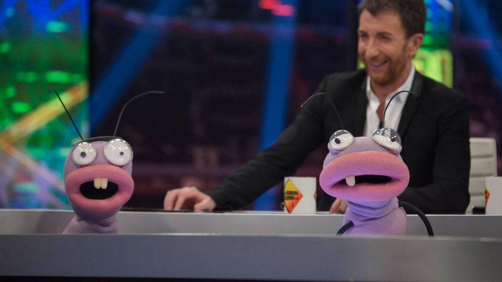 Foto: Trancas y Barrancas se cambiaron de sitio en 'El hormiguero'. (Antena 3)