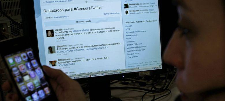 Foto: Twitter pone coto nacional a la libertad de expresión en su red social
