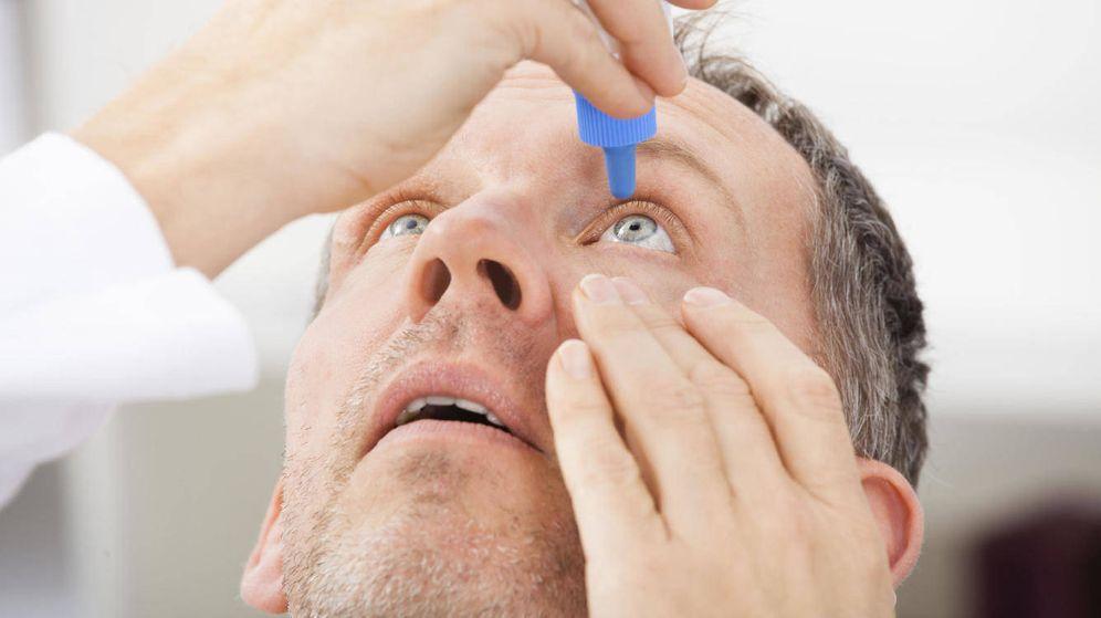Foto: Uno de los tratamientos es administrar gotas de lágrimas artificiales.