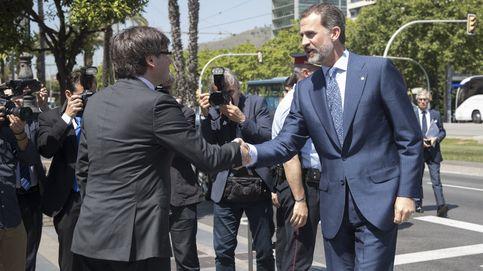 El Rey y la secesión de Cataluña
