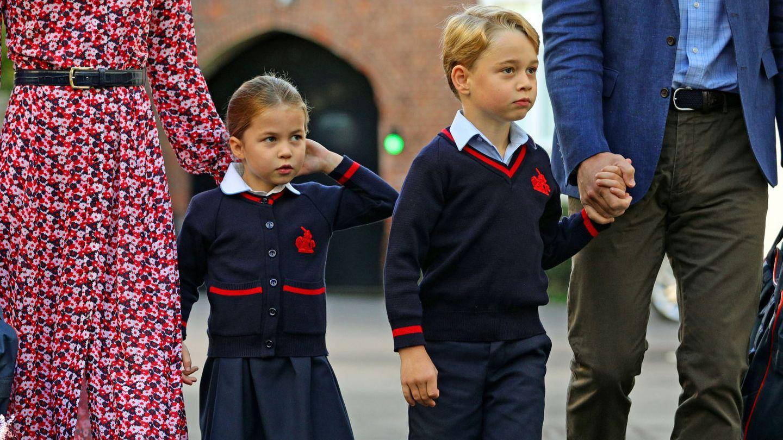 Charlotte, tocándose la coleta. (Reuters)