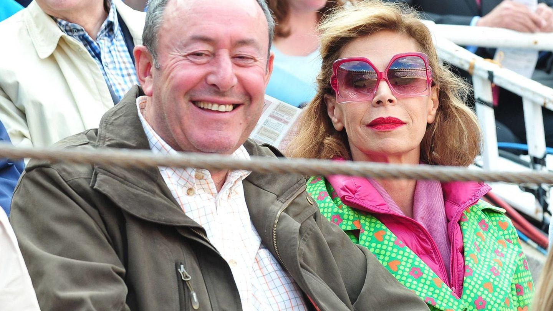 Ágatha Ruiz de la Prada y Luis Miguel Rodríguez. (EFE)