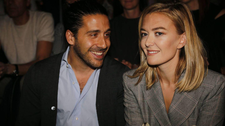 Carlos Torretta y Marta Ortega, en Cibeles. (Cordon Press)