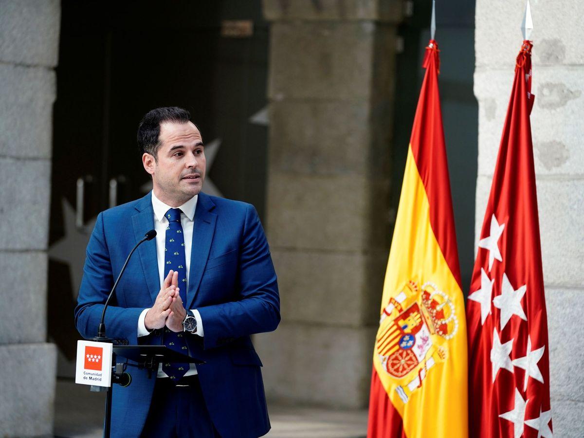 Foto: El líder de Ciudadanos en Madrid, Ignacio Aguado. (EFE)
