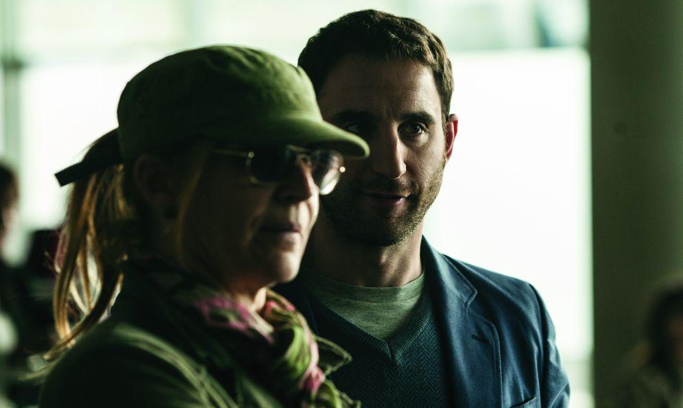 Foto: Dani Rovira y María Ripoll en el rodaje del filme