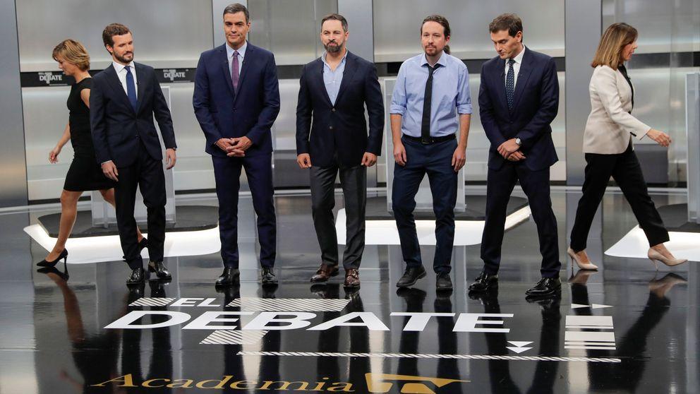 Sánchez se aleja de Iglesias, Casado y Rivera se enzarzan y Abascal se crece sin oposición