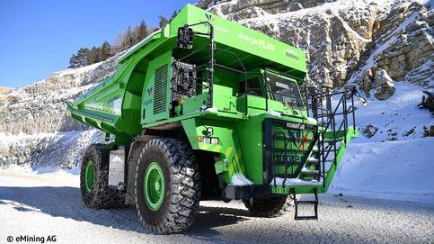 El vehículo eléctrico más grande del mundo es este gigantesco camión