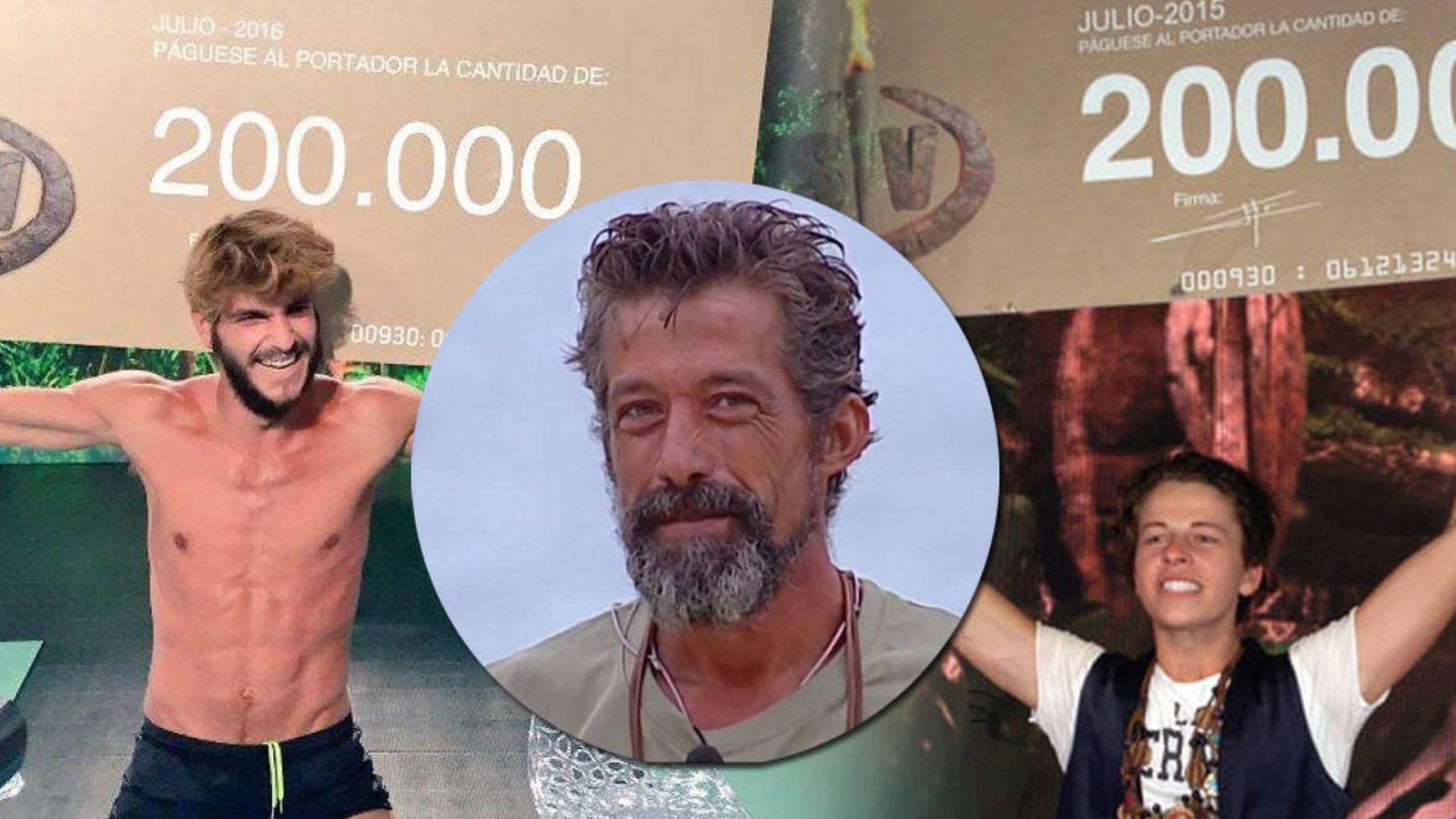 Foto: Los concursantes menos conocidos de 'Supervivientes' se van haciendo con la victoria del concurso. (Mediaset España)