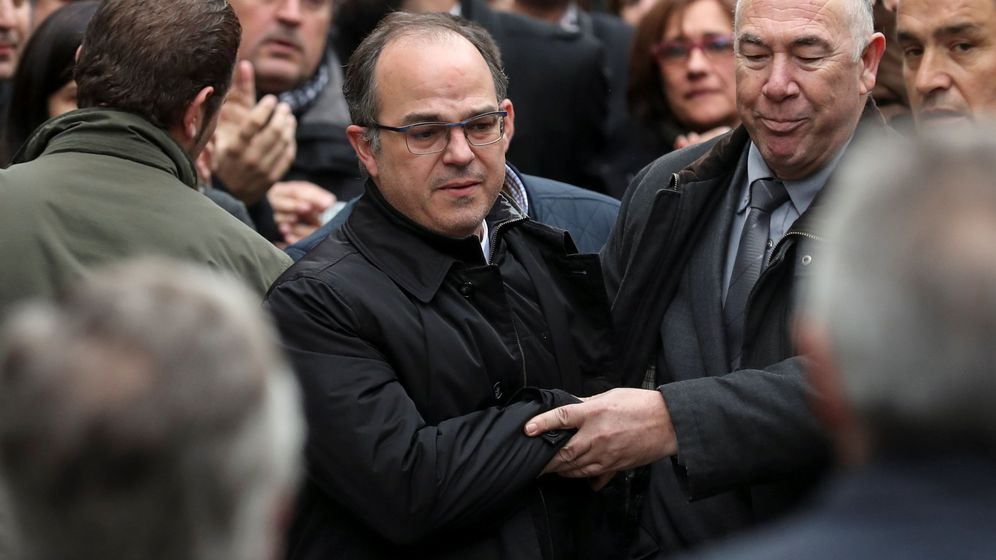 Foto: Jordi Turull antes de comparecer ante el Tribunal Supremo el pasado 23 de marzo. (Reuters)