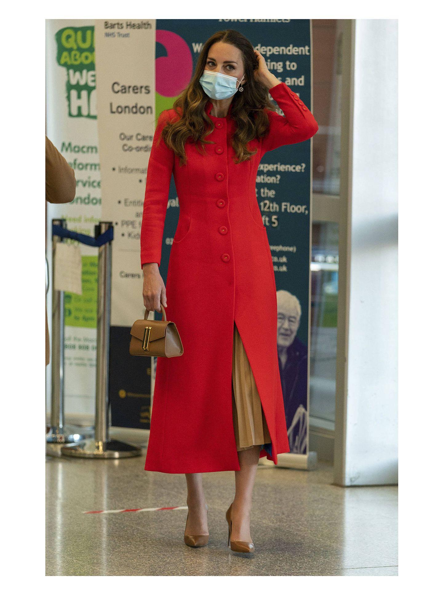 Kate Middleton, en el Royal London Hospital. (Gtres)