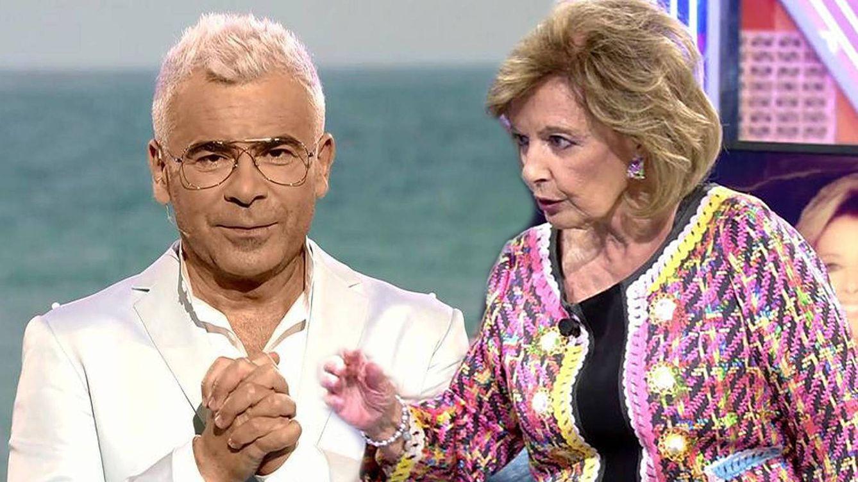 ¿Tiene María Teresa Campos envidia de Jorge Javier Vázquez?: 'Sálvame' lo deja caer