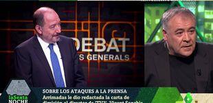 Post de 'La Sexta noche' | Antonio García Ferreras carga contra el director de TV3