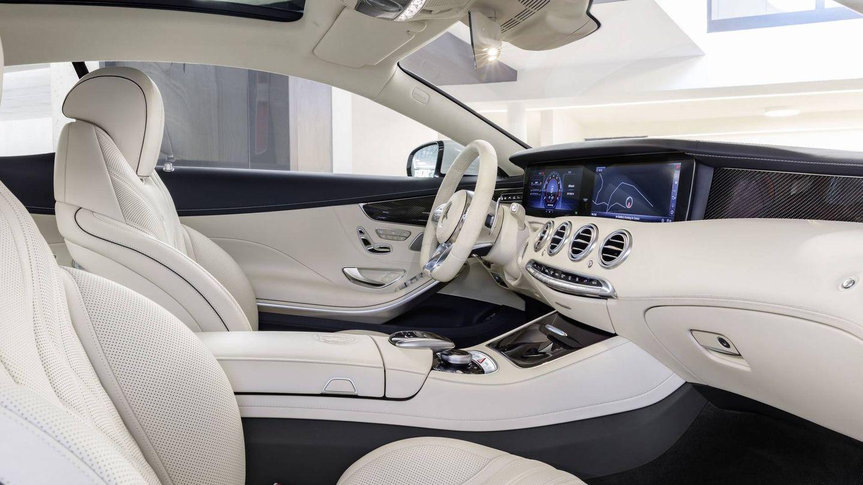 Interior del S63 Coupé.
