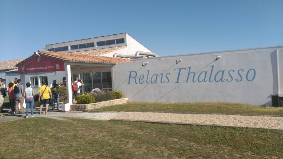 Foto: Así es el hotel de concentración de la Selección en Francia