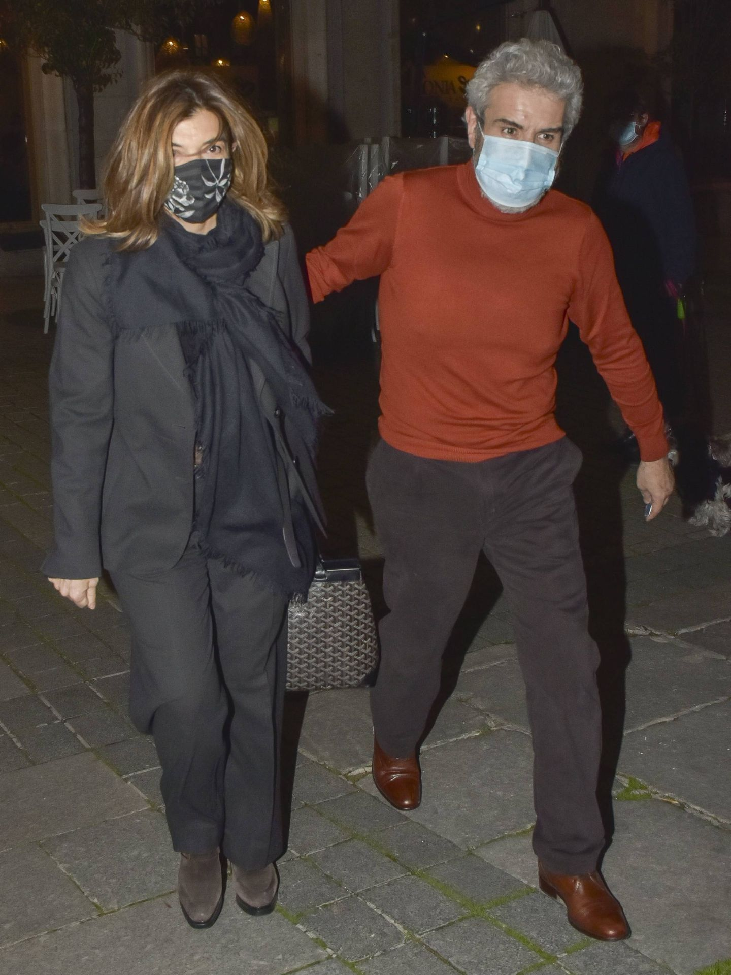 Xandra Falco y Lorenzo Caprile. (CP)