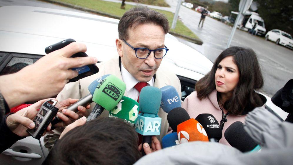 Foto: José Ramón Sierra, abogado defensor de José Enrique Abuín Gey, alias el Chicle. (EFE)