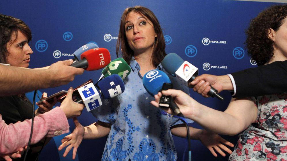Foto: Andrea Levy este domingo en declaraciones ante los medios. (EFE)