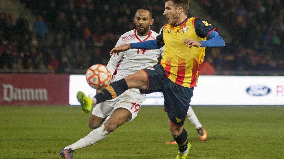 Foto: El último partido de la selección catalana, en diciembre de 2016, también se jugó en Montilivi. (EFE)