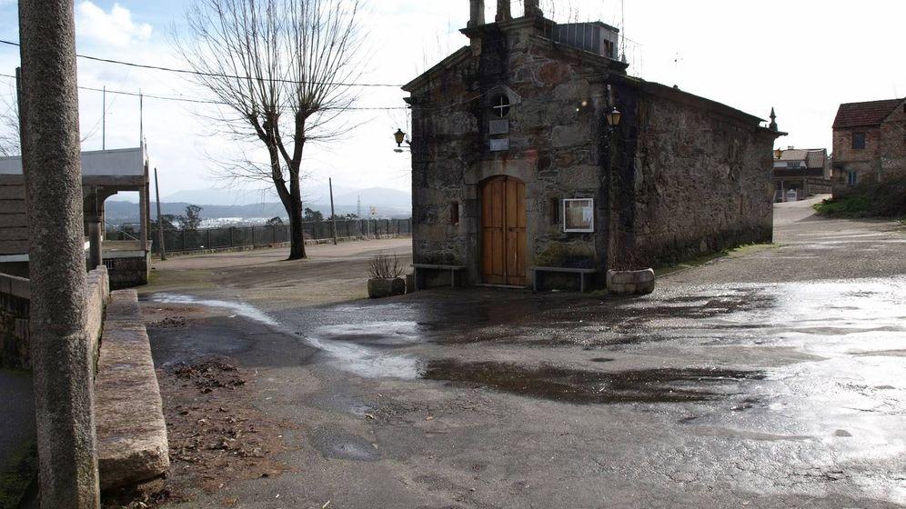 Foto: Iglesia de San Salvador, en Torneiros. (Ayuntamiento de O Porriño)