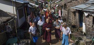 Post de El monje héroe de los 'sin tierra' de Myanmar