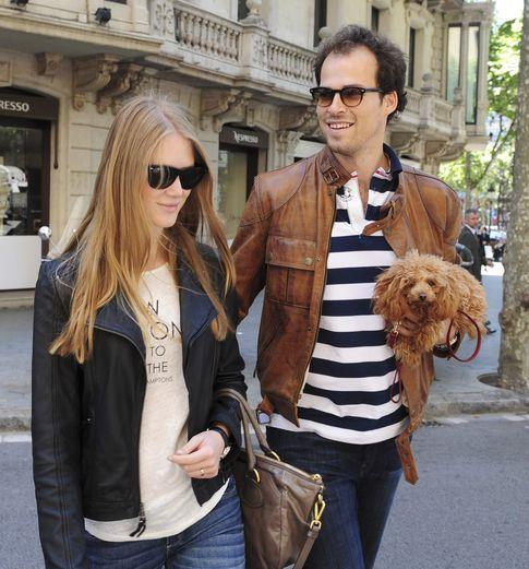 Olfo Bosé y Katerina Strygina en Madrid (I.C.)