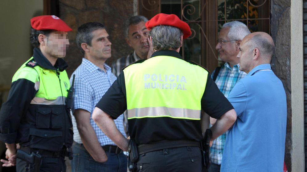 Foto: Agentes de la Policía Municipal de Bilbao. (EFE)