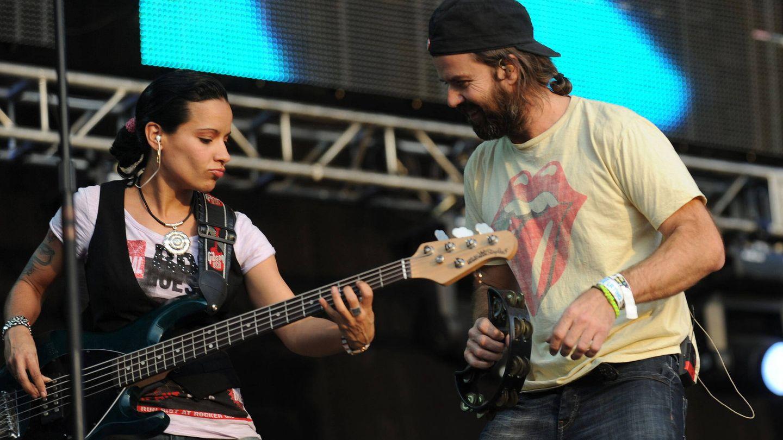 Pau Donés, en un concierto de Jarabe de Palo. (EFE)