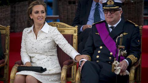 El controvertido príncipe Laurent apoya a Delphine Boël, su supuesta hermana