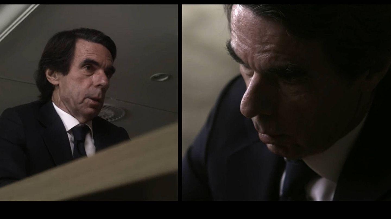 José María Aznar, en 'Lo de Évole'. (Atresmedia)