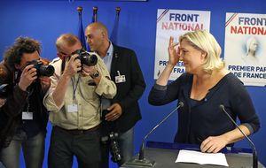Le Pen se alza como la esperanza de la juventud y los obreros franceses