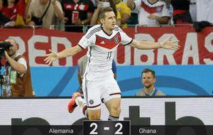 Klose entra en la historia de los Mundiales para salvar a Alemania