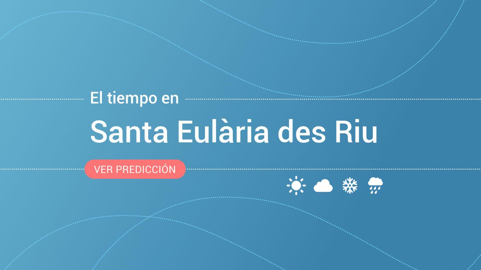 Foto: El tiempo en Santa Eulària des Riu. (EC)