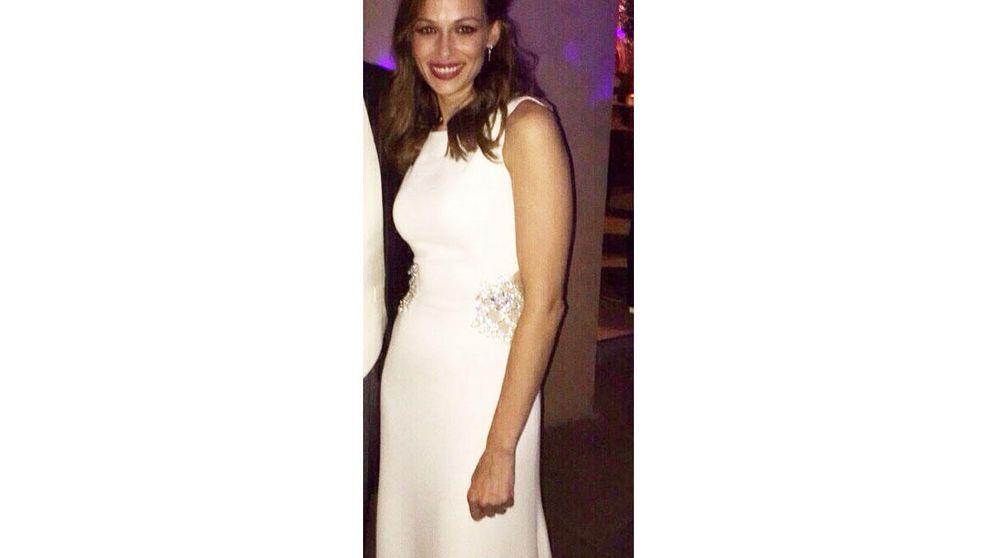 Sobrio y aburrido: así es el segundo vestido de novia de Eva González
