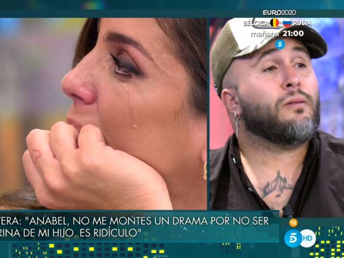 Foto: Anabel Pantoja y Kiko Rivera. (Telecinco).