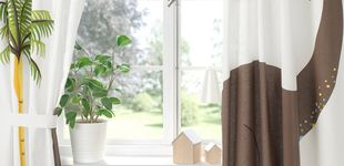 Post de Si quieres cambiar el cuarto de tus hijos, puedes comenzar con estas cortinas de Ikea