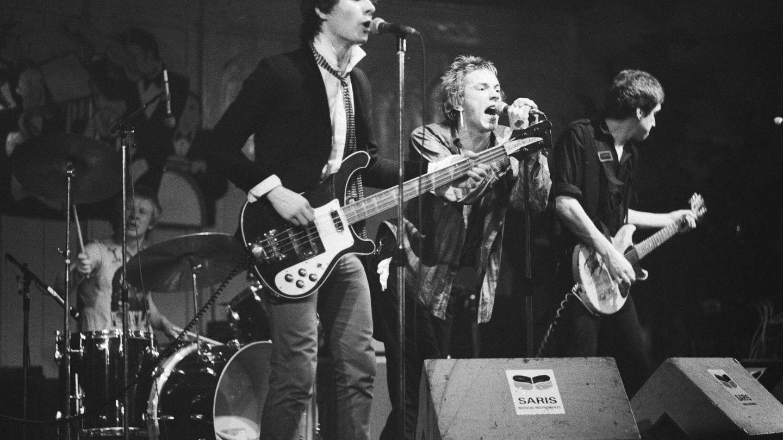 Los Sex Pistols a finales de los 70.