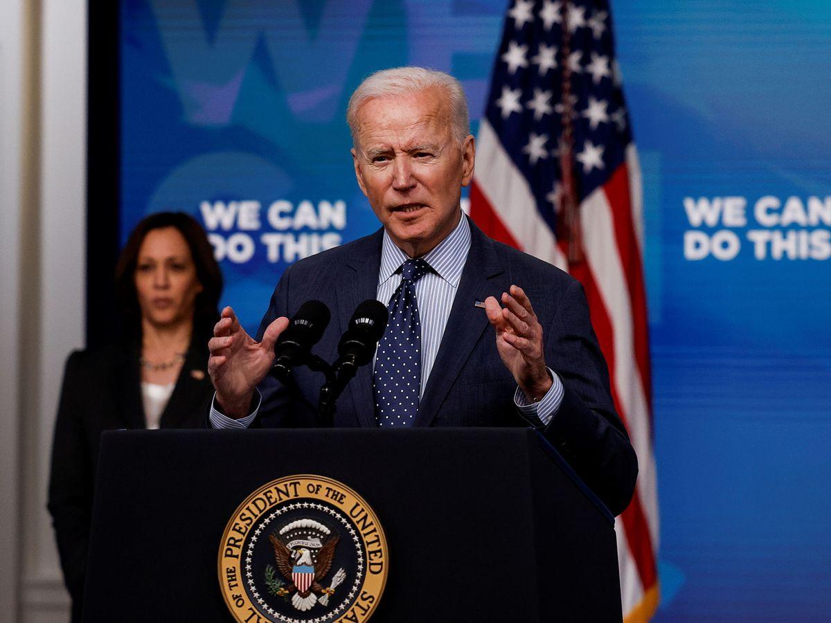 Foto: El presidente de EEUU, Joe Biden (Reuters)