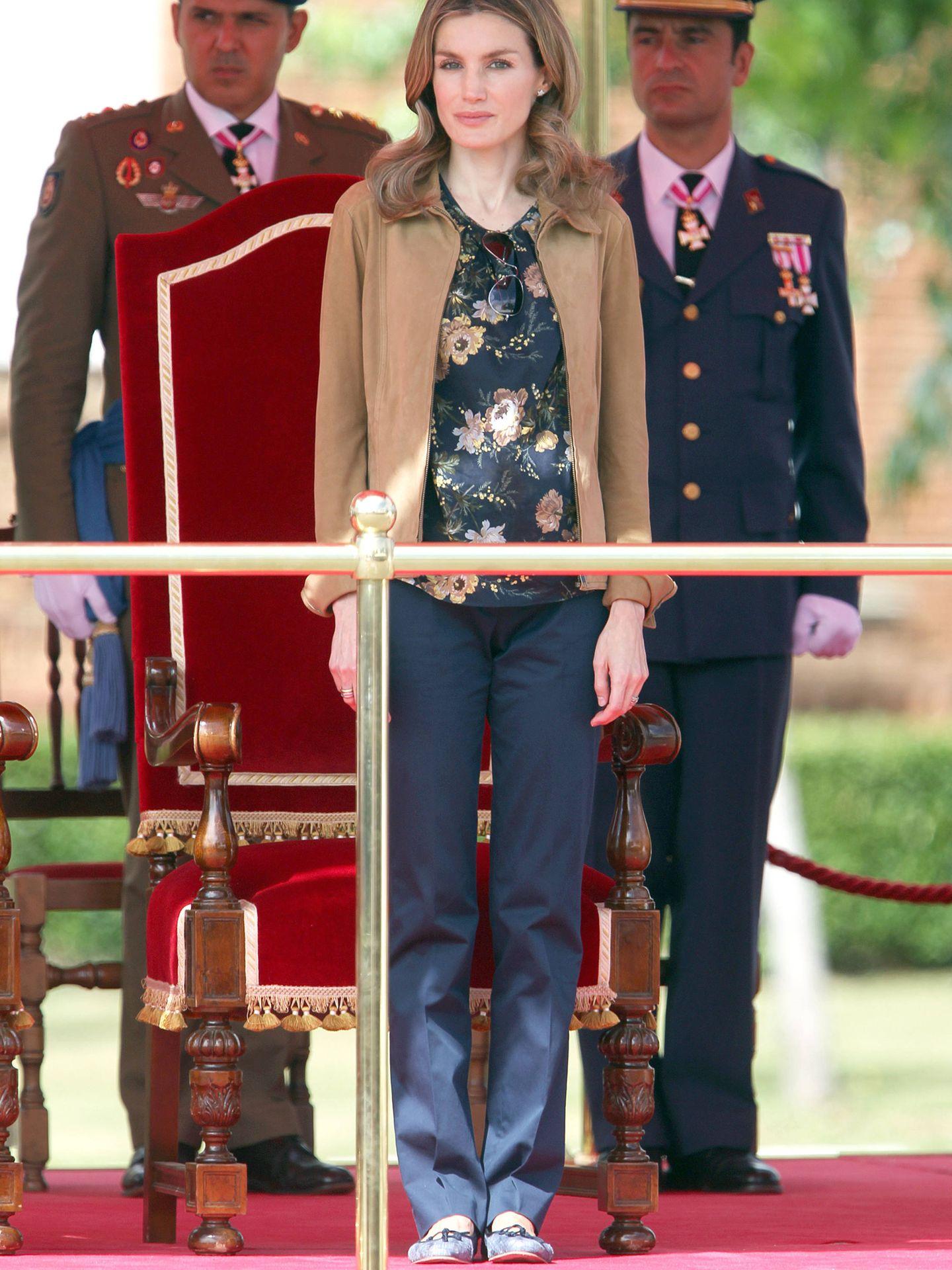 La Reina, en León en 2011. (Gtres)