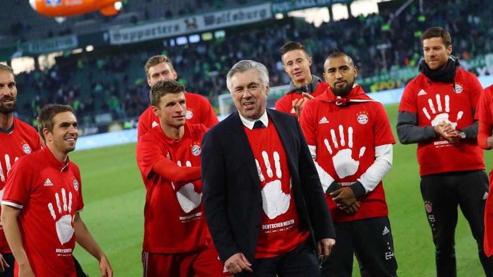 Ancelotti amplía con el Bayern una colección de ligas en la que falta España
