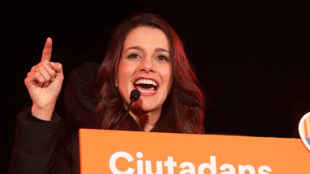 Foto: Inés Arrimadas tras conocer los resultados del 21-D. (EFE)