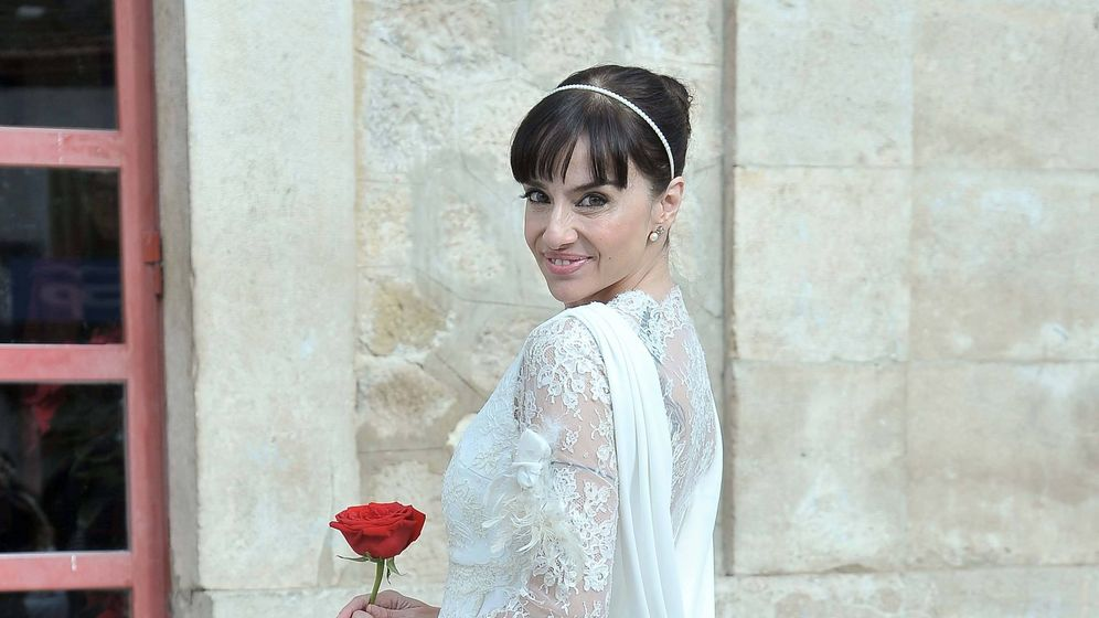 Foto: Beatriz Rico, el día de su boda. (Cordon Press)