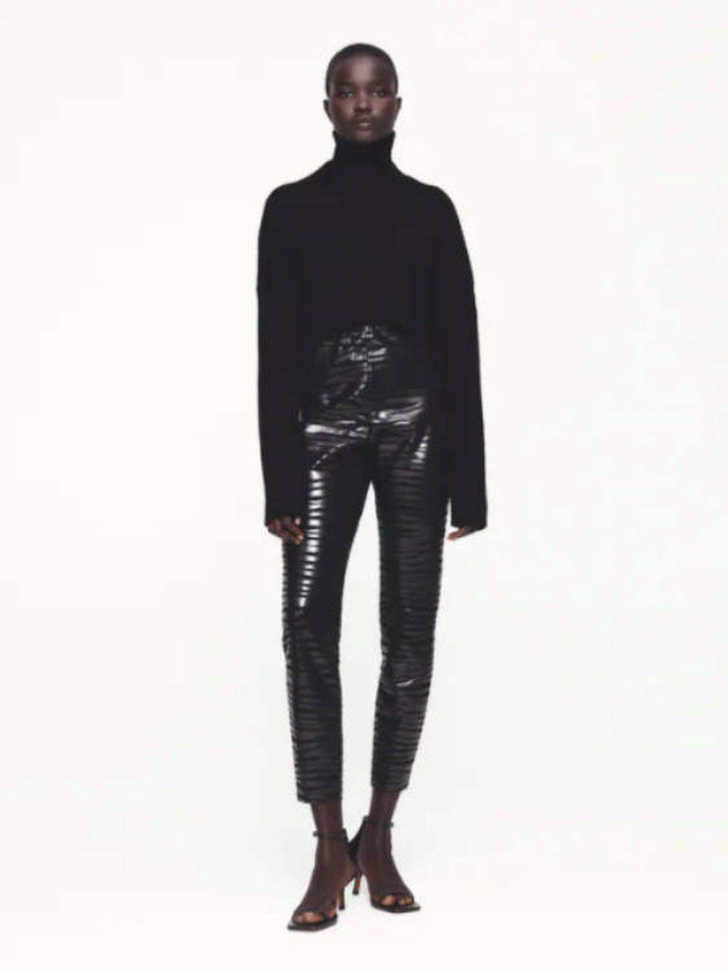 Los leggings de Zara. (Cortesía)