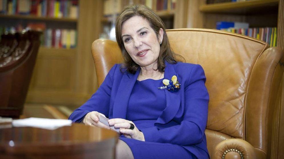 Foto: La consejera del Banco Popular Reyes Calderón.