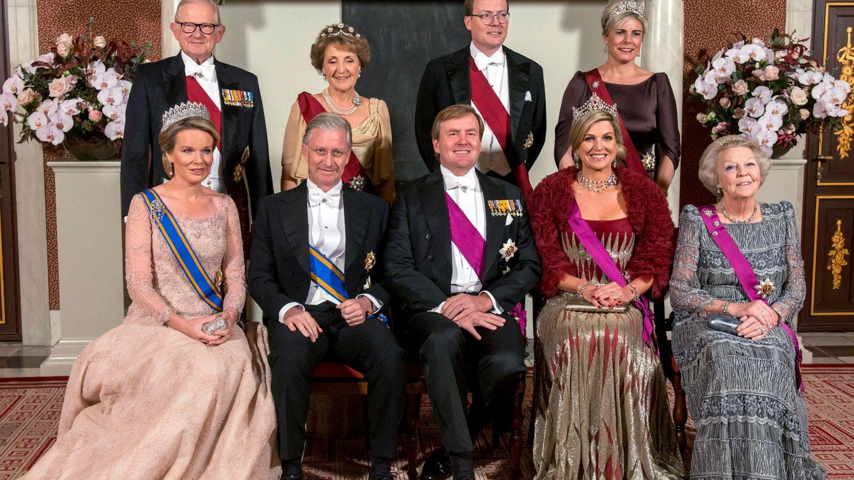Foto: Cena de gala en el Palacio Real de Ámsterdam (Reuters)