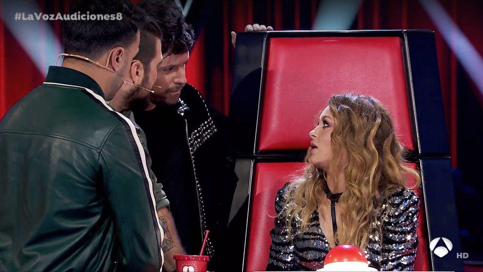 La 'trastada' de Luis Fonsi a Paulina en 'La Voz' que delató Antonio Orozco