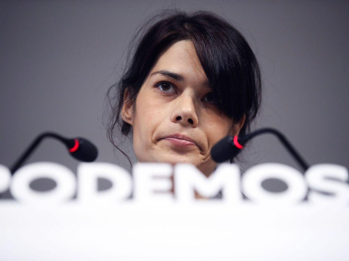 Foto: La diputada de Podemos en Asamblea de Madrid Isa Serra, hoy. (EFE)