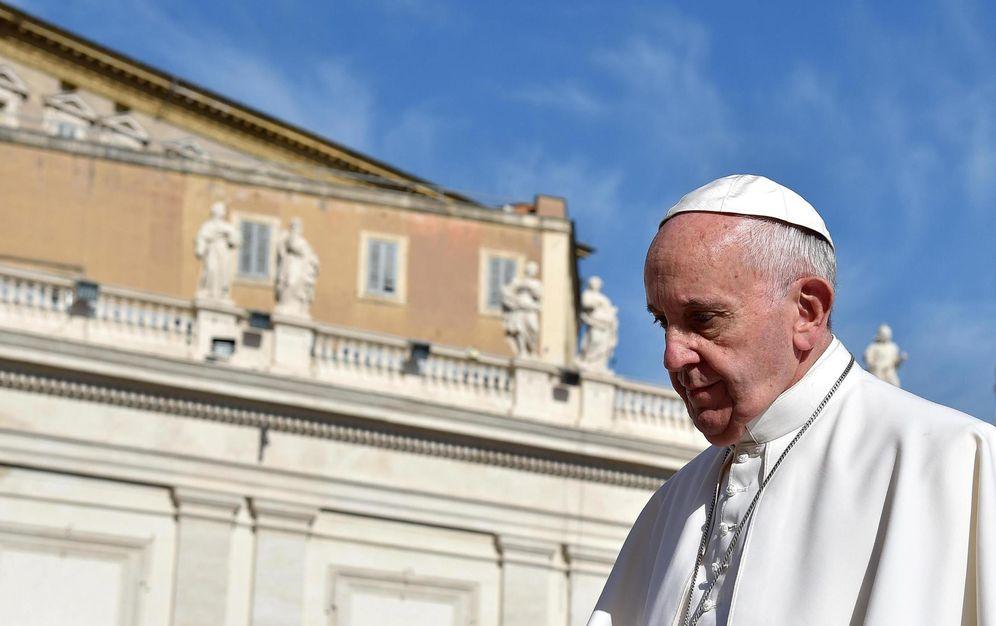 Foto: El Papa Francisco, el 7 de noviembre de 2015 (EFE)